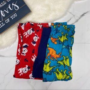 🎉Bundle toddler boy pajama bottoms A7